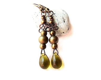 tutorial Fairy Earrings - simple wire tutorial - earrings tutorial for beginners - jewellery tutorial 28