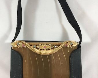 Vintage Volupte Minaudière, Compact Evening Bag, Cigarette Case, Purse, Vanity Purse