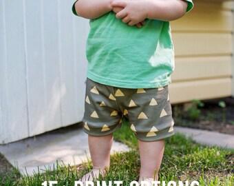 Baby Boy shorts, organic baby shorts, baby boy outfit, baby boy clothing, toddler shorts, baby boy summer clothes