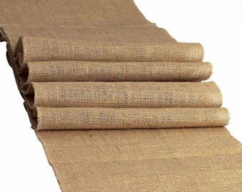 100% Natural Chic Rustic Burlap Jute Runners For Events, Weddings, Home - Rustic Jute Runner - Made in USA - Various Sizes