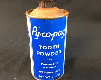 Vintage Py.Co.Pay Tooth Powder