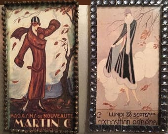 Art Deco: Seasons - Set of Two Magnets