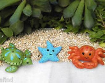 Fairy Garden - Under the Sea Animals