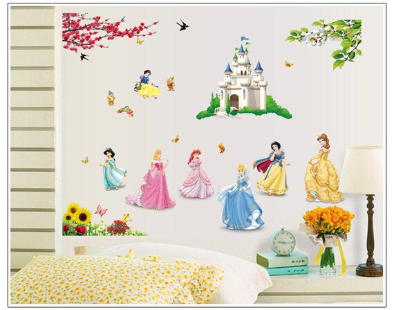 Princess Wall Decal Stickers by Tech2Mix