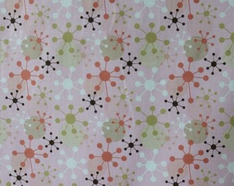 Geometric Collection in Pink Cotton  (Yardage Available)