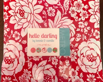 Hello Darling Layer Cake by Bonnie & Camille for Moda