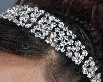 SELINA - Crystal Rhinestone Head Piece