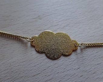 Head in clouds necklace