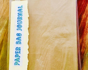 Paper Bag Journal (Large)