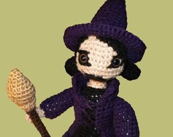 Amigurumi Halloween Lilyann the witch pattern