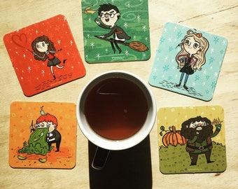 Harry Potter Character Coaster Set | Coasters