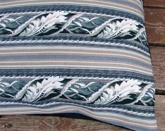 Pet Bed Cover, 44 x 33, Duvet Cover Floral Ribbon & Denim, Canine Cloud Dog Bed Cover, Pet Furniture, Pet Gift