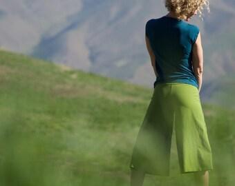 Organic Hemp Palazzo Capri - Organic Women's Clothing - Eco-friendly