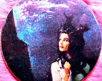 Pocket Mirror - Supernatural - Gothic Romance OOAK