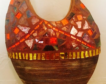 Mosaic Contemporary Vase