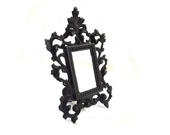 Vintage Iron Arts Co Cast Iron Rococo Style Picture Frame Photo Frame JM 54