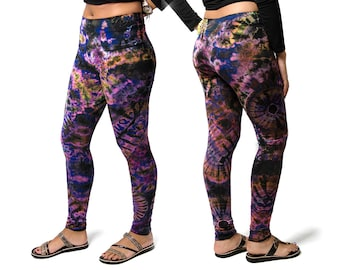 Tie Dye 2.0 Leggings - Purple Multi - 1923U