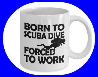 Scuba Diver Gift - Scuba Diving - Scuba Diver - Gift for Scuba Diver - Scuba Diver Art - Scuba Diving Mug