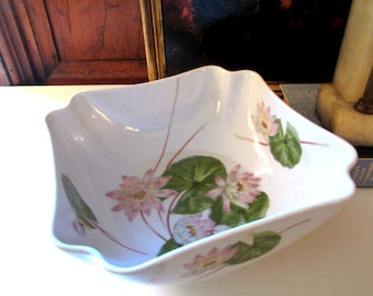 Vintage Chinoiserie Bowl, The Toscany Collection Images, Lotus Flower Bowl, Coffee Table Decor, Palm Beach Decor