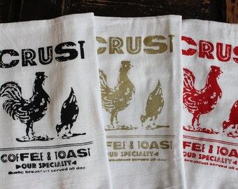 3 Kitchen Towels -Flour Sack Towels -Tea Towels -  Dish Towels - by Modern Vintage Market