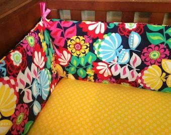 Standard Custom Crib Bumper