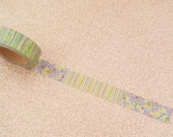 Floral Washi Tape// Flower Craft Tape