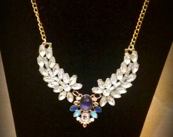 After Life Accessories Repurposed Old Hollywood Necklace