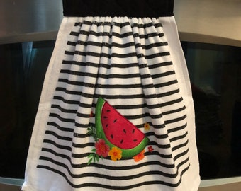 Watermelon Hanging Kitchen Towel