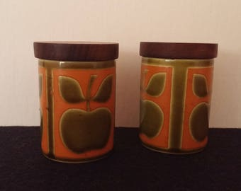Hornsea Apple Salt and Peppers Shakers