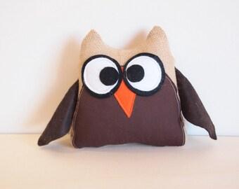 Rag dolls, Stuffed animals: Owl
