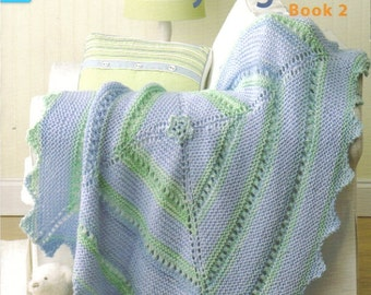 Our Best Knit Baby Afghans ~ Knitting Book