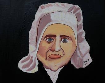 The Maid (original) | Folk Art