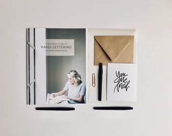 A Beginner's Guide to Hand Lettering | LETTERING KIT