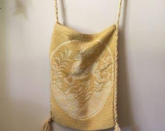 Vintage Fairytale Yellow Tote Bag