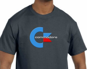 Commodore logo T-Shirt NEW (NWT) *Pick your color & size* - (64, VIC-20, 128, Amiga)