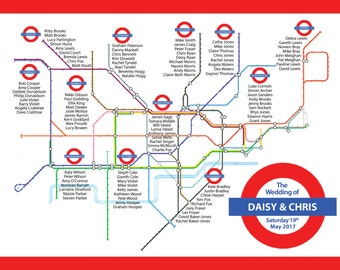 London Underground Tableplan