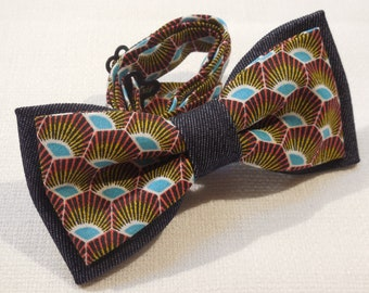 Handmade Bow tie and Pocket square