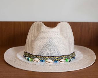 Hat straw effect MOOREA