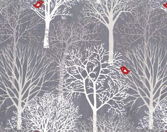 1/2 yard - Woodland winter, Michael Miller Fabrics