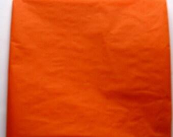 "10 Sheets of Orange Tissue Paper (20"" x 26"")"