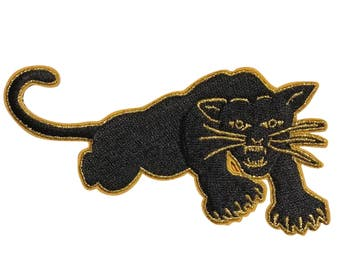 Black Panther - Embroidered Iron-On Patch