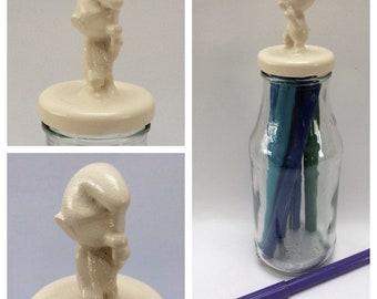Decorative Storage Jar