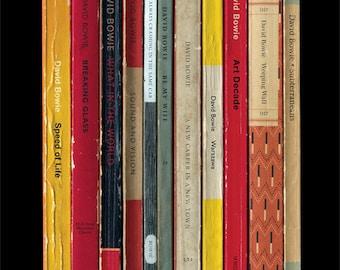 David Bowie 'Low' Album As Penguin Books Poster Berlin Trilogy 1977 Literary Music Print