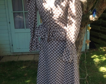 Vintage 70's Holly Hobby dress