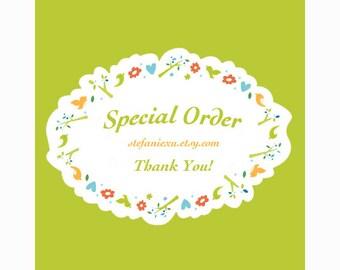 Special order for    isabellecaron3