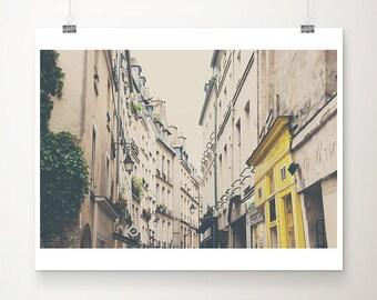Paris photography, le Marais photograph, travel photography, Europe fine art photography, Paris decor, Paris rooftops, French decor