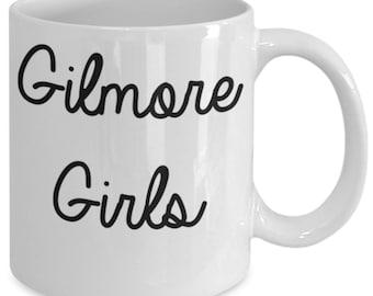 Gilmore Girls Mug (White) 11oz Gilmore Girls Coffee Mug - Gilmore Girls Gift Cup - Stars Hollow Luke's Diner Mug - Lorelai Gilmore Quotes