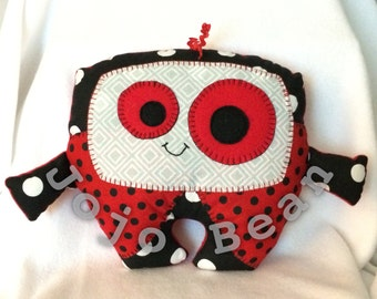 Ladybug Cuddle Monster