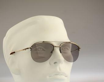 Longines 0173, Vintage aviator sunglasses, 80s rare and unique / NOS