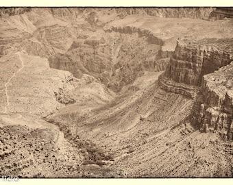 Grand Canyon #1 Sepia